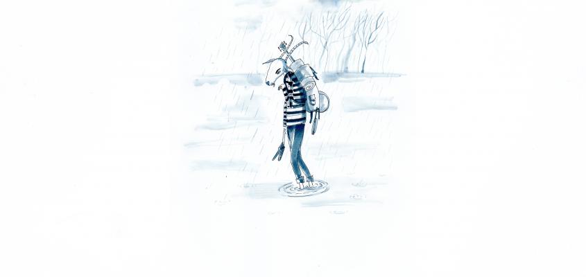 Vivandra – Rofusz Kinga illusztrációja a Jakabak című könyvhöz
